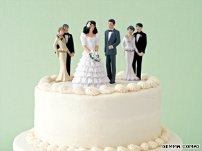In-Laws on Wedding Cake