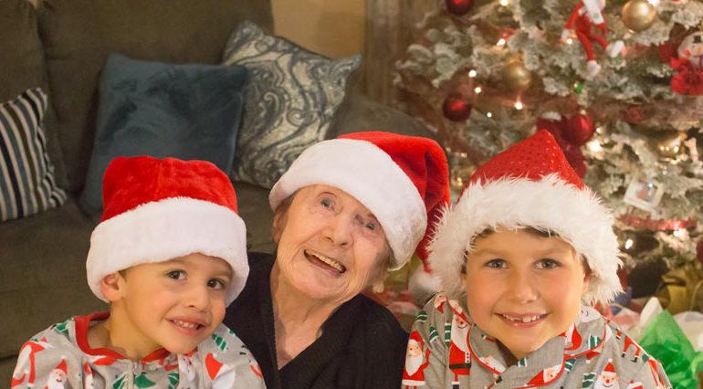Grandma GG and the Boys