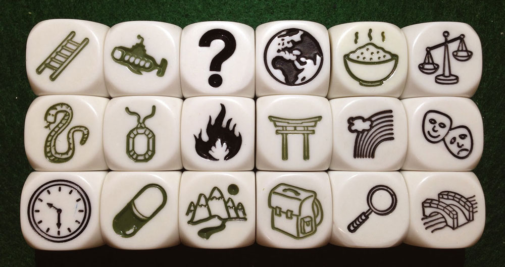 Story Cubes for Storytelling