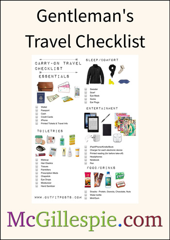 Library preview mcgillespie gentlemans travel checklist fandeluxe Image collections